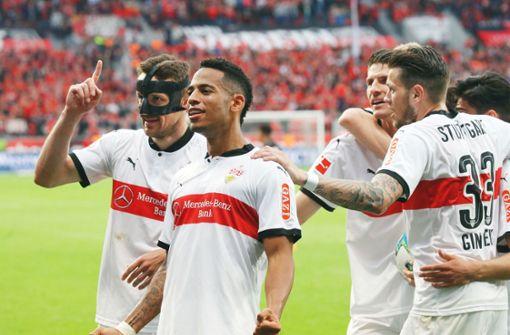 Wie die VfB-Profis den Sieg auf Instagram feiern