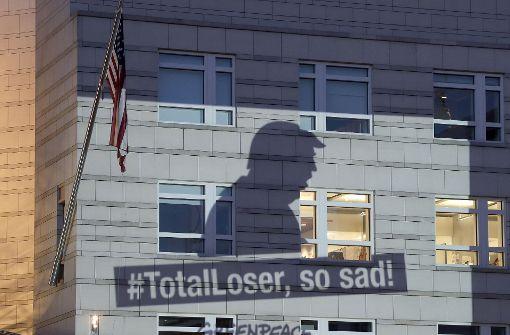 Greenpeace-Proteste und Empörung in Pittsburgh