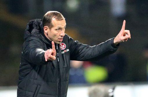 Kaiserslauterns Trainer Jeff Straßer erleidet Herzattacke