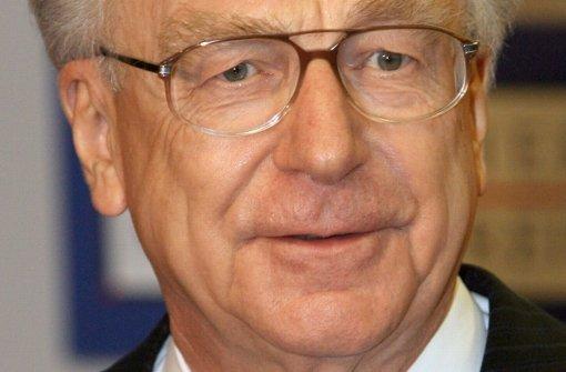 Der frühere baden-württembergische Ministerpräsident Lothar Späth wurde 78 Jahren alt. Foto: dpa
