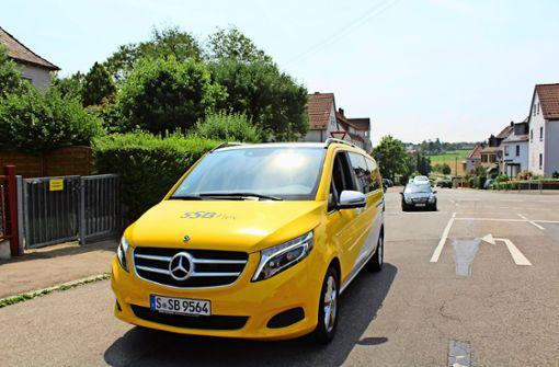 Wie funktioniert das neue SSB-Taxi?