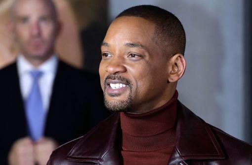 Will Smith lacht – er hat wohl noch nichts von den Kritiken zu seinem neuen Film gehört. Foto: Getty Images Europe
