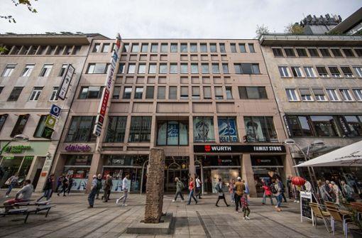 Neue Läden auf König- und  Calwer Straße