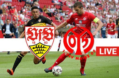 VfB Stuttgart empfängt den 1.FSV Mainz 05