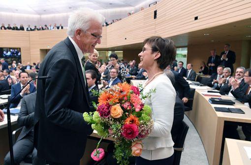 CDU-Politikerin Sabine Kurtz zur Landtagsvizepräsidentin gewählt