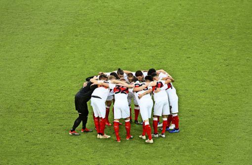 Beim VfB Stuttgart soll sich die erste Elf in der Rückrunde nicht wieder fast von selbst aufstellen. Foto: Pressefoto Baumann