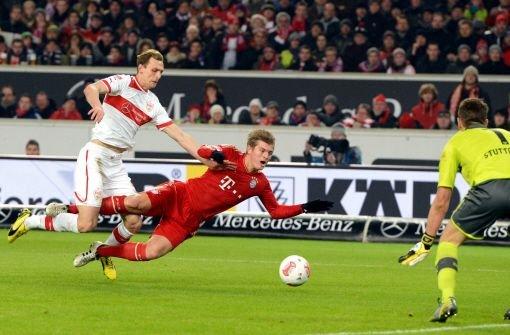 Georg Niedermeier war gegen Bayern der beste Mann auf dem Platz. Für ihn gibt es die Note 1,5. Foto: dpa