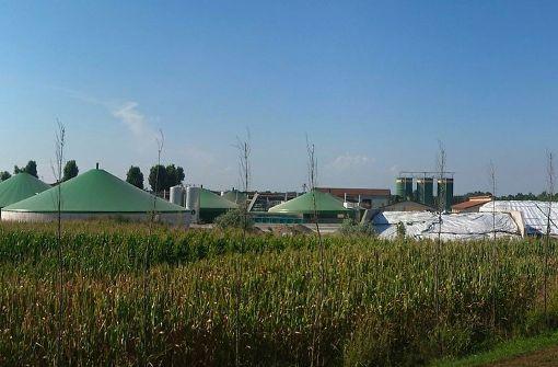 Biogasanlage - gut für Klima und Umwelt