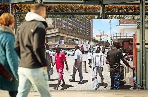 Straßenszenen: Johannesburg trifft Ludwigsburg. Foto: factum/Granville