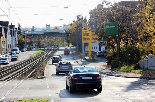 Bremsklötze für den Durchgangsverkehr