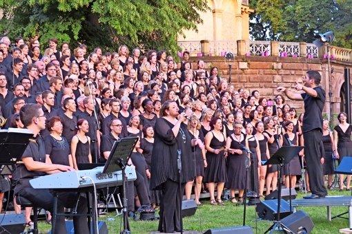 Gospel-Konzert unter freiem Himmel