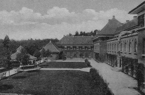 Mit der Eisenbahn ins Sanatorium
