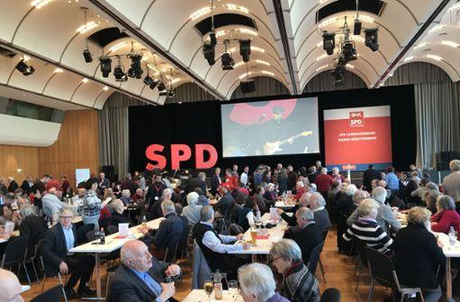 Gut 700 Genossen kommen zum Politischen Aschermittwoch ... Foto: Binkowski