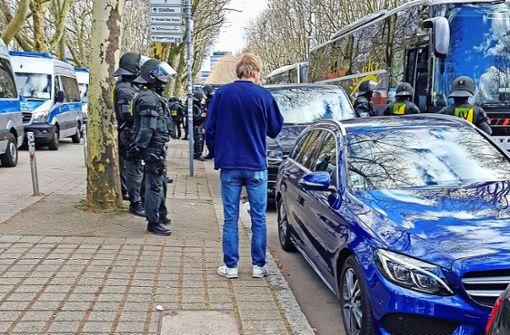 Polizei mit neuer Strategie gegen Stuttgarter Ultras
