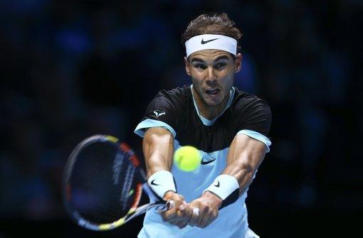 Rafael Nadal hilft sich selbst