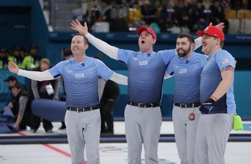 USA holen völlig überraschend Curling-Gold