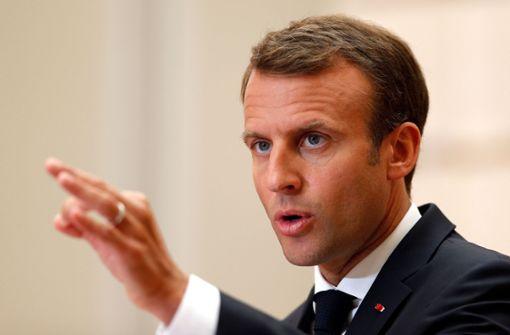 Macron schlägt Aufnahmezentren für Migranten in Europa vor