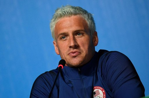 Ryan Lochte in Rio wegen Falschanzeige angeklagt