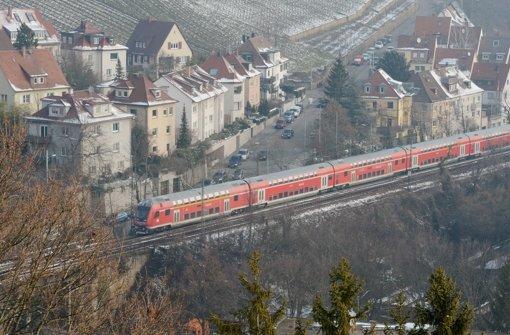 Die Gäubahn fährt bisher durch den Stuttgarter Westen. Foto: dpa