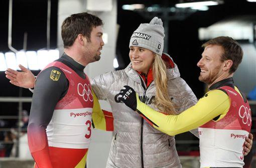Deutsche Rodler jubeln erneut über Team-Gold
