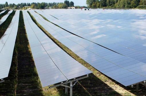 Solar-Boom verteuert Strompreise
