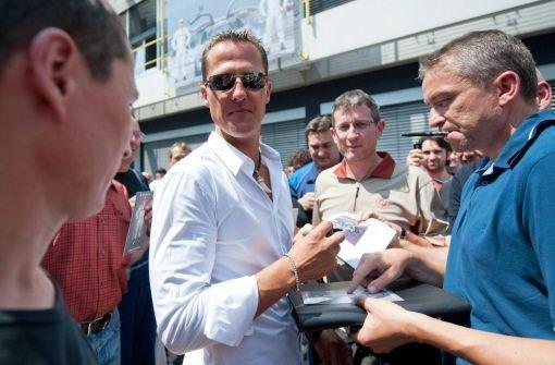 Schumacher - Superstar nur Statist
