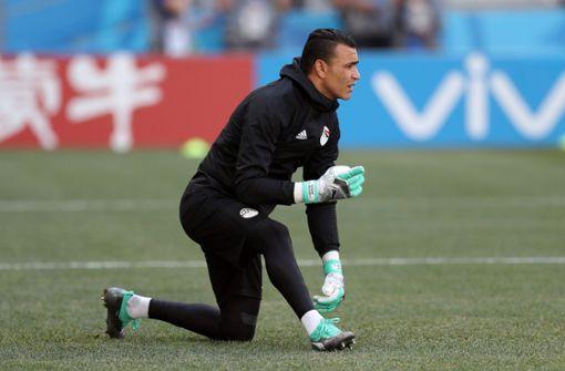 Torwart Essam El Hadary ist der älteste Spieler, der je bei einer WM eingesetzt wurde. Foto: Getty Images Europe