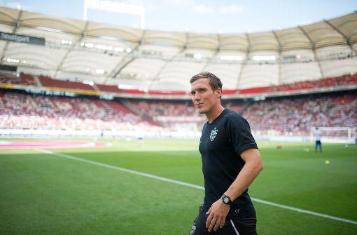 Seit einem Jahr ist Hannes Wolf Trainer beim VfB Stuttgart