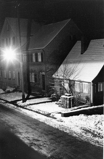 Dieses Foto ist etwa sechzig Jahre alt. Es zeigt die Birkheckenstraße 7. Foto: privat