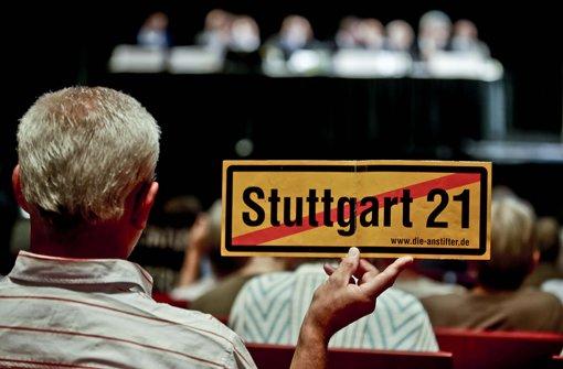 Die Erörterung zum Grundwasser-Management bei Stuttgart 21 wurde abgebrochen Foto: PPFotodesign.com