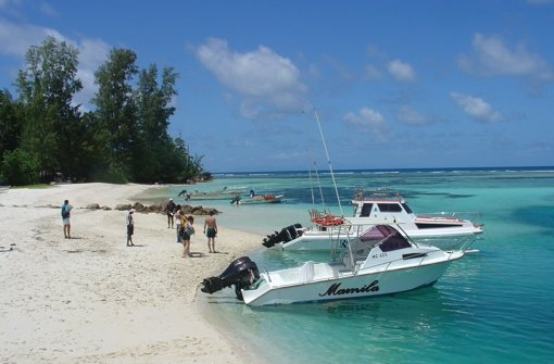 Verliebt auf den Seychellen