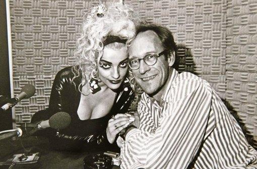 Stefan Siller in den 1980ern mit Nina Hagen Foto: Lichtgut/Achim Zweygarth