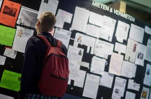Viele Studenten in Wohnungsnot
