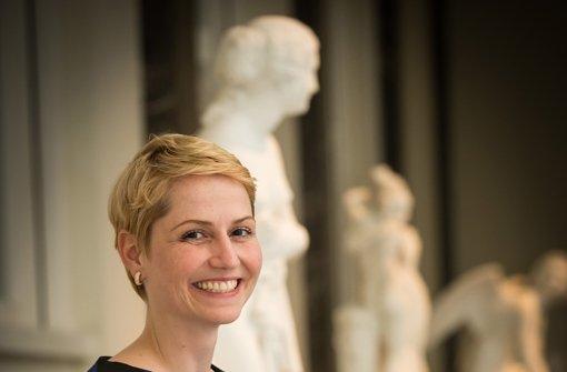 Positivbeispiel: Sabine Frischle verbindet in der Stuttgarter Staatsgalerie Kunst und Controlling und  ist mit 32 Jahren schon Abteilungsleiterin  Foto: Lichtgut/Achim Zweygarth