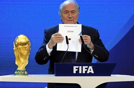 Blatter spricht von untragbaren Zuständen