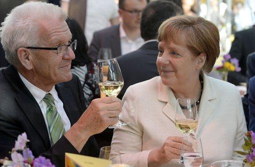 """""""Bild"""": Merkel sprach mit Kretschmann über Gauck-Nachfolge"""
