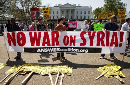 Militärschlag in Syrien war völkerrechtswidrig