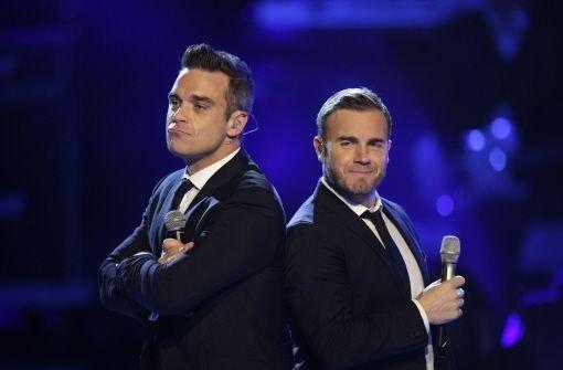 Williams und Barlow nehmen Song auf