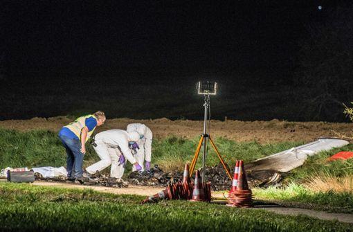 Der Unfall zweier Kleinflugzeuge ereignete sich am Sonntag. Foto: SDMG
