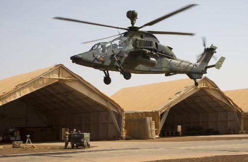 Tiger-Einsatz in Mali ist stark beeinträchtigt