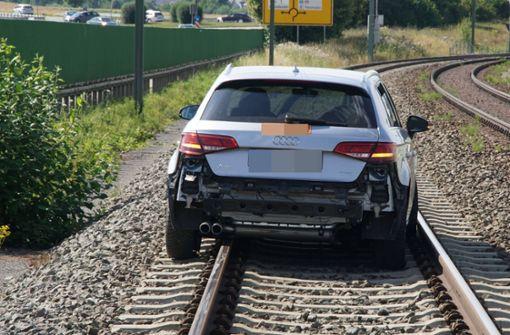 Der Fahrer blieb unverletzt. Foto: SDMG
