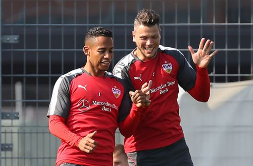 VfB-Trio absolviert privates Trainingslager