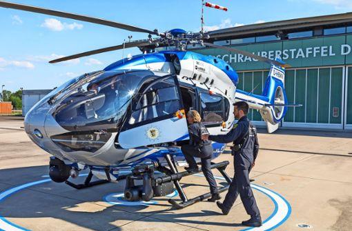 Unterwegs mit den  Adleraugen der Polizei
