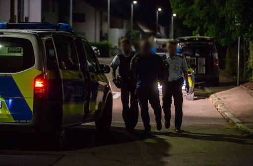 Polizei nimmt Einbrecher auf frischer Tat fest