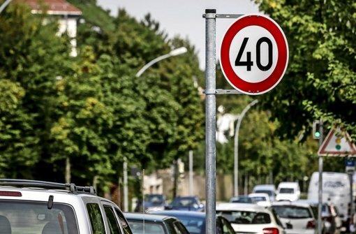 Öfter 40 km/h für saubere Luft