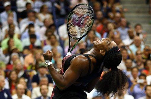 Serena Williams besiegt ihre Schwester