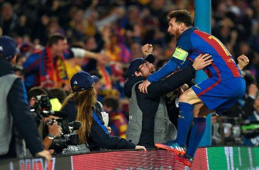 Barça-PSG: Fußballfans in völliger Ekstase