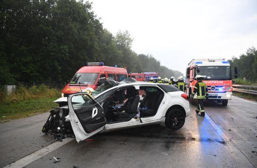 Schwerer Unfall mit mehreren Toten und Verletzten