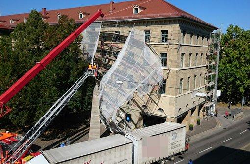 Rotebühlstraße nach Unfall gesperrt