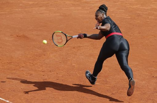 Serena Williams muss künftig bei den French Open auf ihren Catsuit verzichten. (Archivfoto) Foto: AP